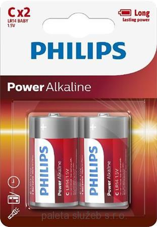 PHILIPS LR14P2B/10 Power Alkaline C / 2