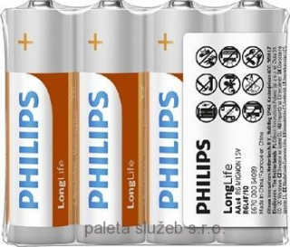 PHILIPS R6L4F/10 Long Life AA / 4