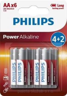 PHILIPS LR6P6BP/10 Power Alkaline AA / 6