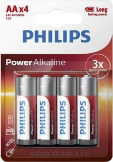 PHILIPS LR6P4B/10 Power Alkaline AA / 4